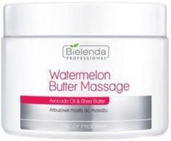 BIELENDA PROFESSIONAL WATERMELON BUTTER MASSAGE POT 500 GRAM