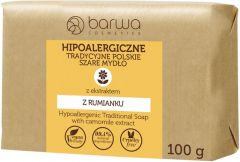 BARWA HYPOALLERGENIC TRADITIONAL POLISH SOAP KAMILLE ZEEP WIKKEL 100 ML
