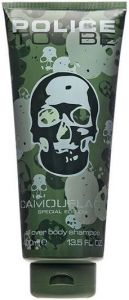 POLICE TO BE CAMOUFLAGE ALL OVER BODY SHAMPOO DOUCHEGEL TUBE 400 ML