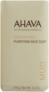 AHAVA DEADSEA MUD PURIFYING MUD SOAP ZEEP WIKKEL 100 GRAM
