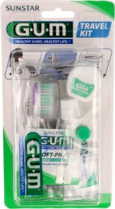 GUM MONDVERZORGING TRAVEL KIT SET 1 STUK