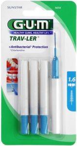 GUM TRAV-LER 1.6 MM TANDENRAGERS PAK 4 STUKS