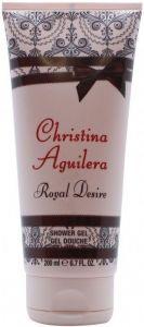 CHRISTINA AGUILERA ROYAL DESIRE SHOWER GEL DOUCHEGEL TUBE 200 ML