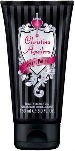CHRISTINA AGUILERA SECRET POTION SHOWER GEL DOUCHEGEL TUBE 150 ML