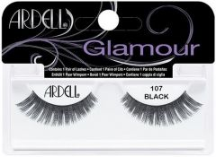 ARDELL GLAMOUR 107 BLACK LASHES NEPWIMPERS 1 PAAR