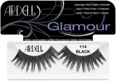 ARDELL GLAMOUR 114 BLACK LASHES NEPWIMPERS 1 PAAR