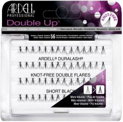 ARDELL DOUBLE UP SHORT BLACK LASHES NEPWIMPERS 56 STUKS