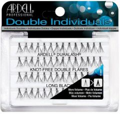 ARDELL DOUBLE INDIVIDUALS LONG BLACK LASHES NEPWIMPERS 56 STUKS
