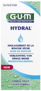 GUM HYDRAL VERLICHTING VAN DROGE MOND MONDSPOELMIDDEL FLACON 300 ML