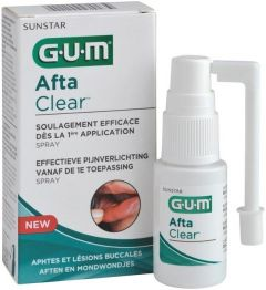 GUM AFTA CLEAR AFTEN EN MONDWONDJES SPRAY 15 ML