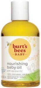 BURT'S BEES BABY NOURISHING BABY OIL BABY OLIE FLACON 115 ML