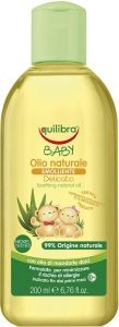 EQUILIBRA BABY SOOTHING NATURAL BABY OIL BABYOLIE FLES 200 ML