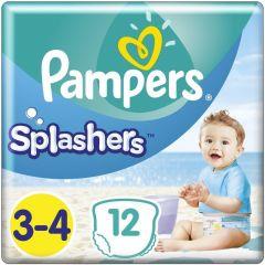 PAMPERS SPLASHERS 3-4 ZWEMLUIERS PAK 12 STUKS