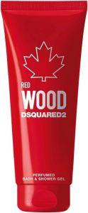 DSQUARED2 RED WOOD PERFUMED SHOWER GEL DOUCHEGEL TUBE 200 ML