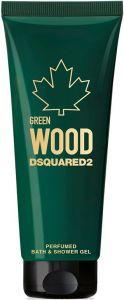 DSQUARED2 GREEN WOOD PERFUMED SHOWER GEL DOUCHEGEL TUBE 250 ML