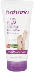 BABARIA CREAM FOR DRY AND CRACKED FEET VOETCREME TUBE 150 ML