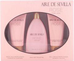 AIRE DE SEVILLA ROSE FOR HER GESCHENKSET 1 STUK