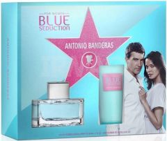ANTONIO BANDERAS BLUE SEDUCTION FOR WOMEN GESCHENKSET 1 STUK