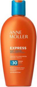 ANNE MOLLER EXPRESS SPF30 ZONNEBRAND FLACON 200 ML