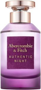 ABERCROMBIE & FITCH AUTHENTIC NIGHT WOMAN EDP FLES 100 ML