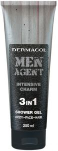 DERMACOL MEN AGENT INTENSIVE CHARM SHOWER GEL DOUCHEGEL TUBE 250 ML