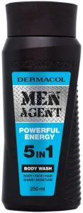 DERMACOL MEN AGENT POWERFUL ENERGY BODY WASH DOUCHEGEL FLACON 250 ML