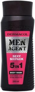 DERMACOL MEN AGENT SEXY SIXPACK BODY WASH DOUCHEGEL FLACON 250 ML