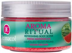 DERMACOL AROMA RITUAL REFRESHING BODY SCRUB FRESH WATERMELON POT 200 GRAM