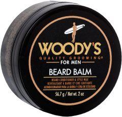 WOODY'S FOR MEN BEARD BALM BAARD BALSEM POT 56,7 GRAM
