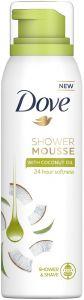 DOVE SHOWER MOUSSE WITH COCONUT OIL SPUITBUS 200 ML