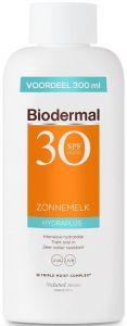 BIODERMAL HYDRAPLUS SPF 30 ZONNEMELK FLACON 300 ML