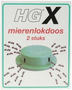 HG X MIERENLOKDOOS DOOSJE 2 STUKS