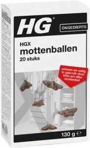 HG ONGEDIERTE MOTTENBALLEN PAK 130 GRAM