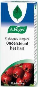 A. VOGEL CRATAEGUS COMPLEX ONDERSTEUNT HET HART TABLETTEN POT 80 STUKS