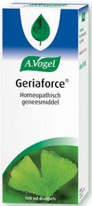 A. VOGEL GERIAFORCE HOMEOPATHISCH GENEESMIDDEL BIJ CONCENTRATIEPROBLEMEN EN HOOFDPIJN DRUPPELS FLACON 100 ML
