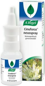 A. VOGEL CINUFORCE STOOMDRUPPELS + MENTHOL ADEM VRIJ FLACON 20 ML