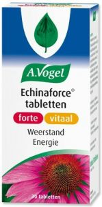 A. VOGEL ECHINAFORCE TABLETTEN FORTE VITAAL WEERSTAND ENERGIE TABLETTEN POT 30 STUKS
