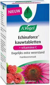 A. VOGEL ECHINAFORCE KAUWTABLETTEN + VITAMINE C FRAMBOZENSMAAK POT 60 STUKS