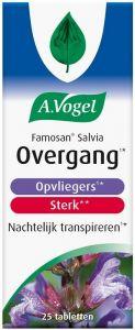 A. VOGEL FAMOSAN SALVIA STERK OPVLIEGERS NACHTELIJK TRANSPIREREN TABLETTEN POT 25 STUKS