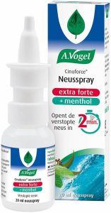 A. VOGEL CINUFORCE NEUSSPRAY EXTRA FORTE + MENTHOL SPRAY 20 ML