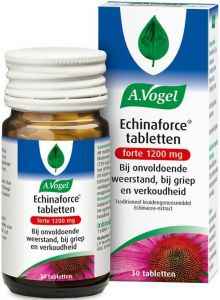 A. VOGEL ECHINAFORCE TABLETTEN FORTE 1200 MG POT 30 STUKS