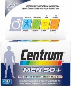 CENTRUM MEN 50+ ADVANCED TABLETTEN DOOSJE 30 STUKS