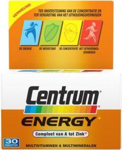 CENTRUM ENERGY ADVANCED TABLETTEN DOOSJE 30 STUKS