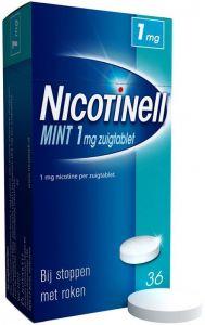NICOTINELL MINT 1 MG ZUIGTABLET DOOSJE 36 STUKS
