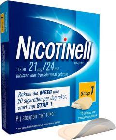 NICOTINELL PLEISTERS TTS 30 DOOSJE 14 STUKS