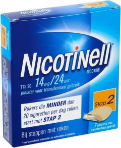 NICOTINELL PLEISTERS TTS 20 DOOSJE 7 STUKS