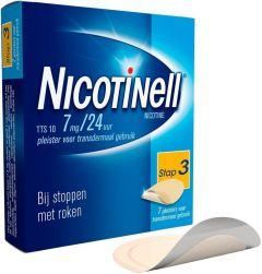 NICOTINELL PLEISTERS TTS 10 DOOSJE 7 STUKS