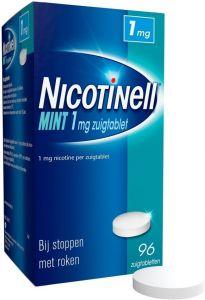 NICOTINELL MINT 1 MG ZUIGTABLET DOOSJE 96 STUKS