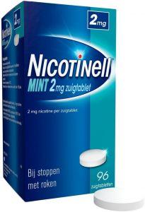 NICOTINELL MINT 2 MG ZUIGTABLET DOOSJE 96 STUKS