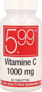 5.99 VITAMINE C1000 TABLETTEN POT 60 STUKS